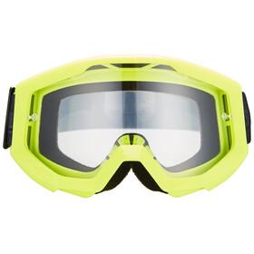 100% Strata Goggle neon yellow/anti fog clear